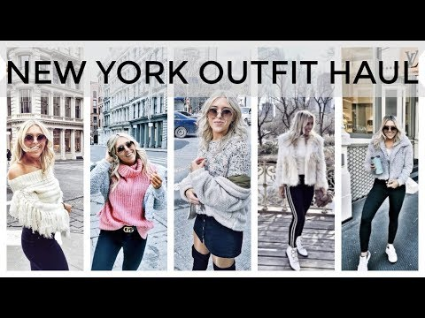 Download New York Clothing Haul, What I Wore In New York - Topshop, ASOS, Gucci, Missguided Try On In NYC HD Mp4 3GP Video and MP3