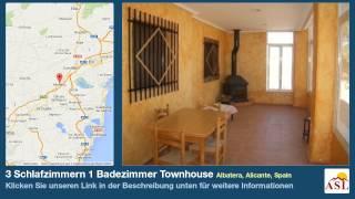 preview picture of video '3 Schlafzimmern 1 Badezimmer Townhouse zu verkaufen in Albatera, Alicante, Spain'