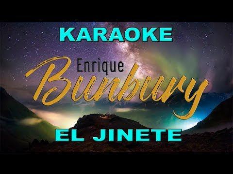 El jinete Enrique Bunbury