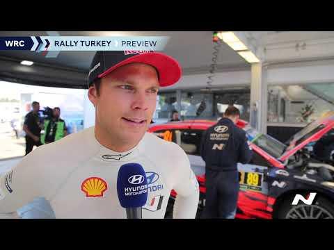 WRC Rally Turkey Preview - Hyundai Motorsport 2019