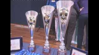 preview picture of video '890\14 Premiazione  Camp. Europeo Ipovedenti Calcetto a 5 Palamariotti  La Spezia 16 Dicembre 2014'