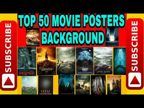 Download Top 10 Movie Poster Background Yeasin Creation Video