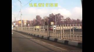 ДТП в Новороссийске.Пьяный водитель+погоня 10.06.2015