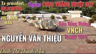 Máy Bay Của Tổng Thống Nguyễn Văn Thiệu Trước 1975. Sài Gòn 12.3.2018