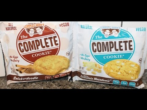 Lenny & Larry's The Complete Cookie: Snickerdoodle & White Chocolate Macadamia Review