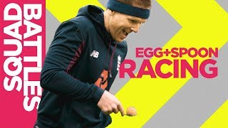 Egg And Spoon Racing! | Jason Roy Cheats?! 🤣 | Squad Battles - Challenge 1