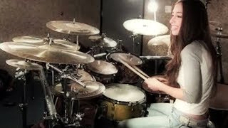 BULLET FOR MY VALENTINE   TEARS DON'T FALL   DRUM COVER BY MEYTAL COHEN