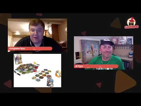 Gumbo Live! with Chris Wray talking Shadows: Amsterdam