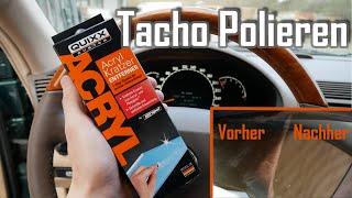 Tachoscheibe Kratzer entfernen || Tacho Polieren || Günstig & Einfach
