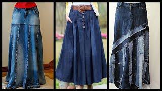 Beautiful 40+ Denim Skirts Ideas