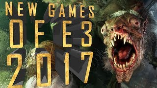 20 Best NEW Games of E3 2017