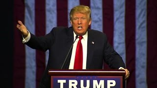 """Donald Trump on rally protester: """"Get him the hell out of here"""""""