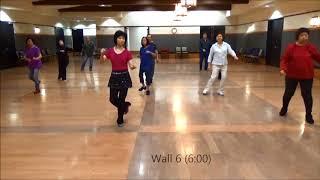 Making Memories EZ Line Dance (Choreographed by K  Sholes & Shirley Blankenship)