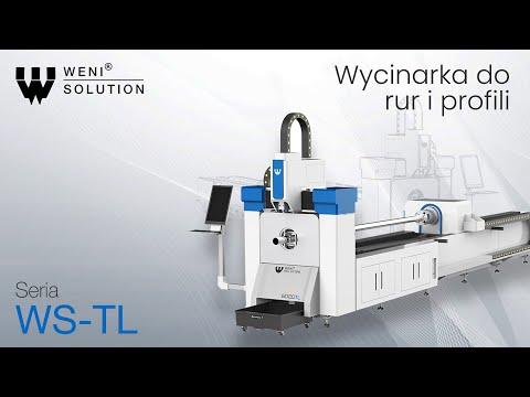 Wycinarka laserowa do rur i profili - Seria WS-TL - zdjęcie