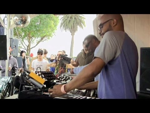 Octave One live @ SUNSET Island : June 9, 2013