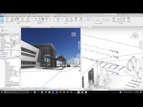 Revit 2019: Levels in 3D Views