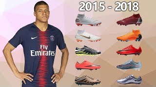 KYLIAN MBAPPE - NEW SOCCER CLEATS & ALL FOOTBALL BOOTS 2015-2018
