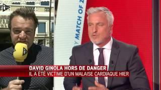 David Ginola Est Hors De Danger Après Un Quadruple Pontage