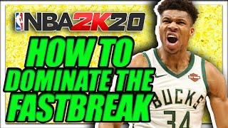 NBA 2K20 Guide to Dominate the Fastbreak!