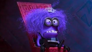 Despicable Me - Purple Minion Funny Moments Hd