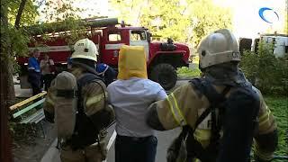 В многоэтажке на Псковской оперативные службы отработали совместные действия в случае утечки газа