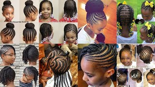 2020 AWESOME CUTEST #BRAIDS HAIRSTYLES FOR KIDS : LOVELY BRAIDS #STYLES FOR KIDS