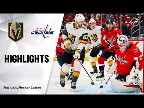 NHL Highlights | Golden Knights @ Capitals 11/09/19