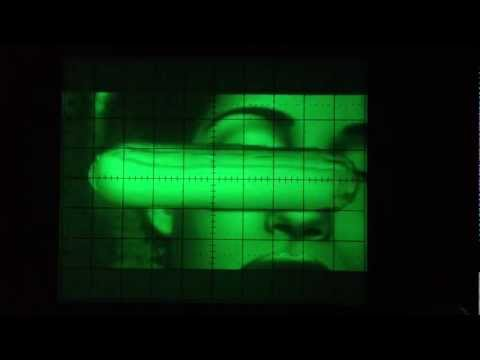 Amiga demos on oscilloscope