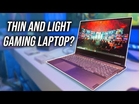 External Review Video jdHQxdC8Nyk for Lenovo Legion Y740Si 15.6-in Ultra-Thin Gaming Laptop