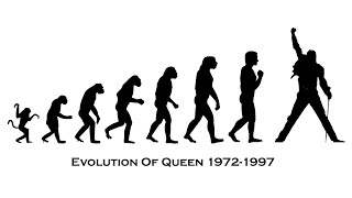 Queen - Music Evolution (1972-1997)