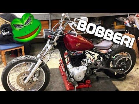 GarageVlog - Suzuki Savage 650 Bobber Build