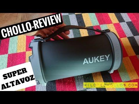 El altavoz portatil más bestia de Aukey
