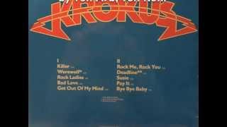 """RAREST KROKUS: """"Get Out Of My Mind"""" 1978"""