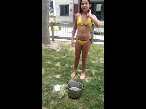 Infinity girls: ice bucket challenge