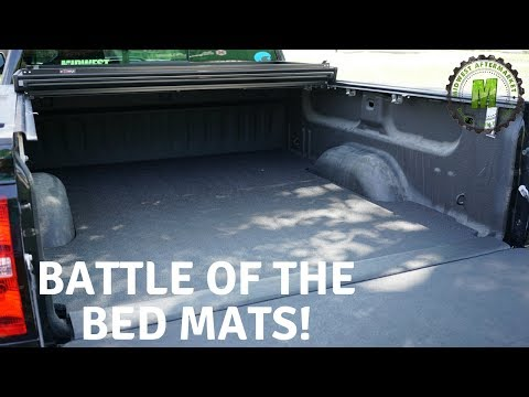 Battle of the Bed Mats!