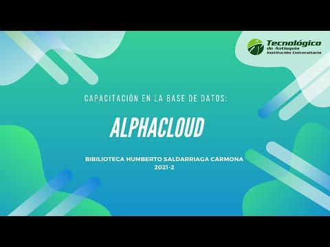 Capacitación plataforma AlphaCloud