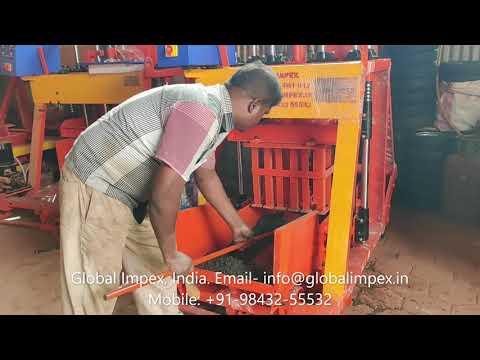 430 G Hydraulic Mobile Block Making Machine