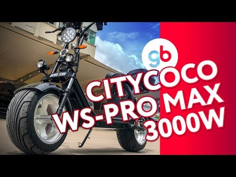 Электроскутер CityCoco WS-Pro MAX 3000w