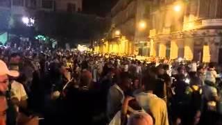 preview picture of video 'Oran la fête qualification Algérie'