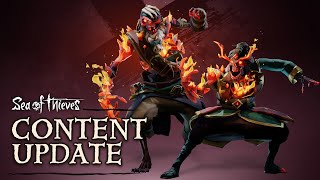 Ashen Winds blaze through the Sea of Thieves! Flameheart's long-serving general have started to re-appear through the seas, are you brave enough to tackle the Ashen Lords? Take down these fiery foes and you'll be able to get your hook on the new Ashen Winds Skull for some personal pyrotechnics! Or you could just throw in that quest for booty and just curl up with an Ashen Curse pet, up to you.  Learn more about the fiery features that await: www.seaofthieves.com/Ashen-Winds  Read the full Ashen Winds release notes: https://www.seaofthieves.com/release-notes/2.0.17  --------------------------------------------------------------  Buy the game and forge your own legend: https://www.xbox.com/seaofthieves Dive into the Sea of Thieves Forums: https://www.seaofthieves.com/forum Follow Sea of Thieves on Twitter: https://twitter.com/SeaOfThieves Like Sea of Thieves on Facebook: https://www.facebook.com/SeaOfThievesGame Watch Sea of Thieves on Mixer: https://mixer.com/SeaOfThieves Talk Sea of Thieves on Discord: https://discord.gg/seaofthieves  Xbox Live Gold required to play on Xbox One (sold separately).