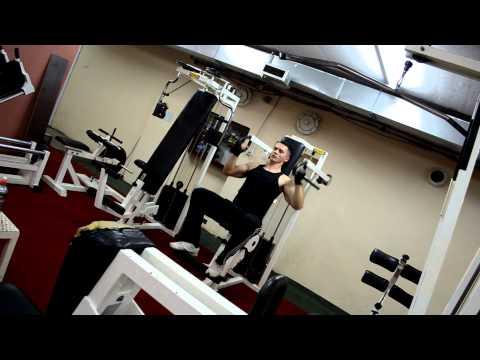 Emir Druškić - Shoulder Military Press - Lever - 60kg 10x