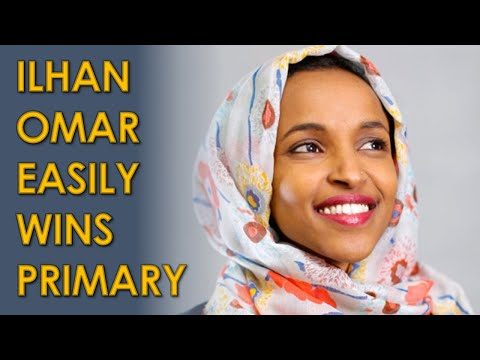 Ilhan Omar EASILY Wins Primary over Antone Melton-Meaux