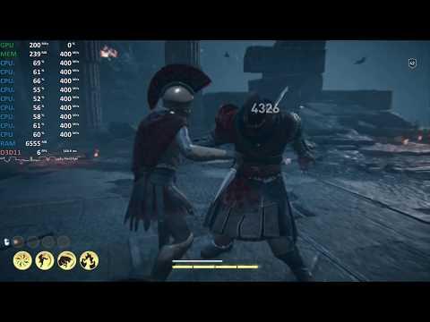 AMD Ryzen 5 2500U Test - Assassin's Creed Odyssey - Gameplay