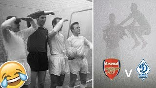 Arsenal vs. Dynamo Moscow: the crazy story behind the craziest match in history! - Oh My Goal