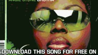 Angie Stone Brotha Track 2 feat  Alicia Keys and Eve  PROMO 01 Brotha Album Version