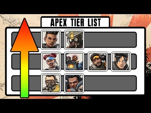 Apex Legends Tier List! | Best Legends 8-1