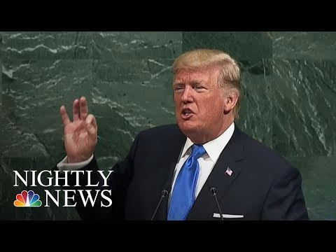 Donald Trump: U.S. May Have No Choice But To 'Totally Destroy North Korea'   NBC Nightly News