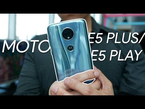 Video over Motorola Moto E5 Plus