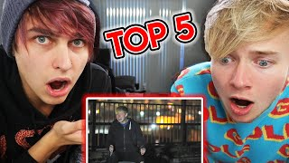 Top 5 Scariest Sam and Colby Moments | Colby Brock