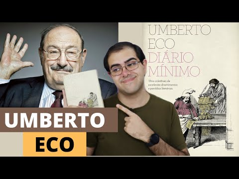 Crônicas GENIAIS de Umberto Eco - Resenha do Diário Mínimo   Ronaldo Junior
